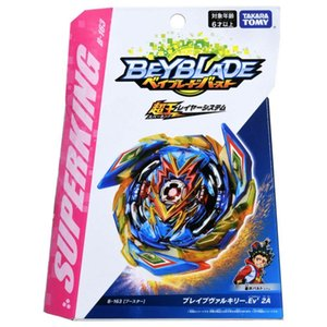 Envío gratis Original Takara Tomy Beyblade Burst Super King B-163 Booster Valkyrie 2A PSL para juguetes para niños Y1130