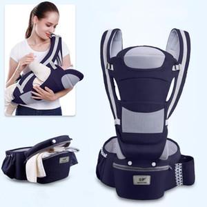 0-48m Transportador de bebé ergonómico 15 usando Way Infant Baby Hipseat Carrier Frente Frente Frente Ergonómico Kangaroo Baby Wrap Sling Travel