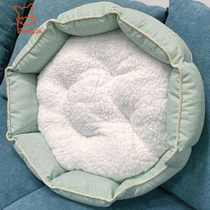 Calming Large Dog Beds for Large Small Dogs Luxury Winter Warm Big Dog House Sofa Blanket Kennel Pet Dogs Accessories Supplies