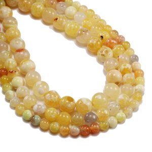 1 Strand Lot 6 8 10mm Natural Ice Crackle Agates Stone Bead Round Loose Spacer Beads For Jewelry Making Findings Diy Bracelet H bbynfE
