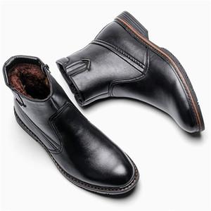 40-45 men winter boots Non-Slip Comfortable 2020 warm snow boots men #DM5266C1 LJ201214