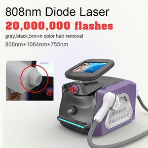 2021 Salon Equipment For Hair Removal New Model Portable Laser Hair Removal Machine 808nm Hair Removal Beauty Instrument