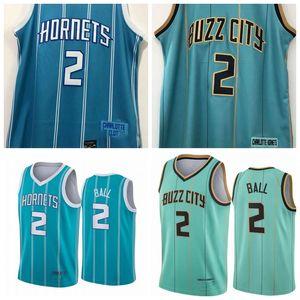 MännerCharlotteHornisse Lamelo Ball Basketball-Trikots Basketball-Jersey;