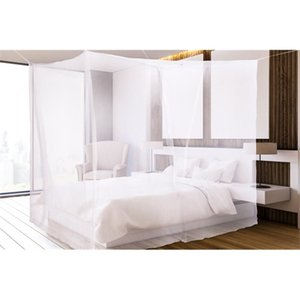 C Aventik No-See-Um mesh Square and Conical Mosquito Net for Bed 2 Choices, Grey Color, Indoor & Outdoor Use Z1123