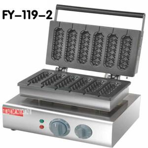 1 PC FY-119-2 110V 220V Commercial Use Electric corn dog waffle maker_lolly hot dog waffle maker machine