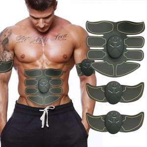 EMS Electric Muscle Trainer Abdominal Muscle Stimulator Loss Weight Body Shape Slimming Muscle Exerciser Intensive Massager Machine