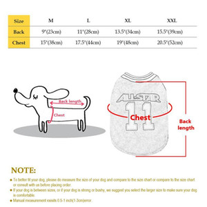 Breathable Cotten Dog Clothes Soft Puppy Basketball Tshirt Vest Summer Shirt Apparel Pet Clothing Small Medium Dogs Cat bbynqK