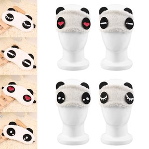 1pcs Cute Panda Sleep Mask Sleeping Face Eye Blindfold Eyeshade Breathable Women Men Travel Cover Health Care Aid Eyepatch Tools