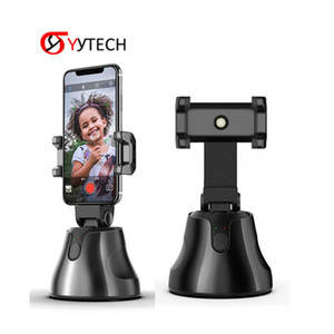SYYTECH Free Shipping 360 Rotation Selfie Auto Tracking Camera Mount Smart Phone Holder mobile Camera Gimbal Apai Genie Car
