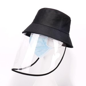 TPU Isolation Dust-proof Protective Face Shield Cap Splash Proof Spittle Fisherman's Cap Wind Proof Face Masks