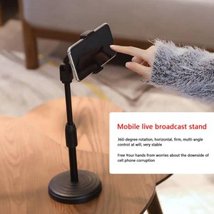 Camera Tripod Mount Holder Stand Universal Phone Holder Stand Desk Mount Bracket For Smartphone Live Streaming sqcgNd longdrake
