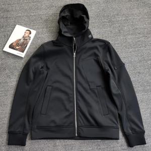 CP Topstoney Pirate Company 2020 Konng Gonng Chaqueta de solapa, Chaqueta con capucha de otoño e invierno, peluche y abrigo casual de moda espesada