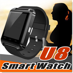 U8 Smart Watch Wrist Watches With Altimeter And Motor For Smartphone Samsung S8 Pluls S7 Edge Android Cell Phone
