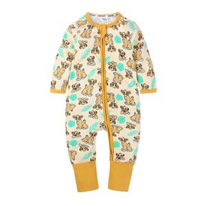 Wasailong Babysuit Tuta neonato Rompere Boys Boys Girls Manica lunga 3-24 mesi Toddler Bambini vestiti 201216
