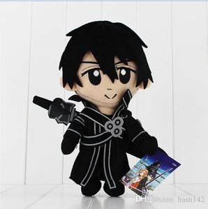 Anime Sword Art Online Kirigaya Kazuto plush toys Collectible Toys 28cm Best Gift High Quality Free Shipping EMS