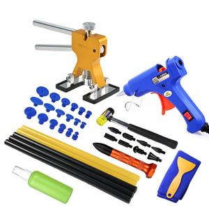 Automobile Body Paintless Dent Repair Tools Dent Repair Kit Automobile Dentilato Auto TRALER CON GLUE TRUCCHE TABS Kit di rimozione per veicoli auto auto