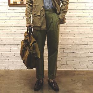 حجم 28-42 رجل القطن جودة عالية عارضة العسكرية السراويل أنيقة مان خمر السراويل gurkha lj201029