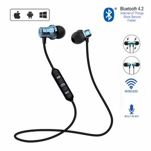 EWA Bluetooth Earphones XT11 Running Bluetooth Wireless Earphone Magnetic Headset With Mic Active Noise Cancelling Headset