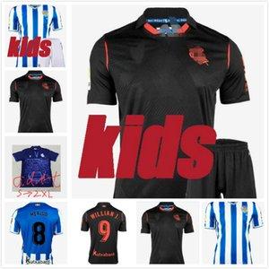20 21 Real Sociedad Soccer Jersey 20 21 Royal Society Oyarzaba Soccer Shir Thome X.PRieto Carlos Juanmi Uniforme de fútbol Venta