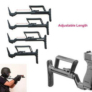 Water Bomb Tactical Back Shoulder Support Glock Telescopic Tail Trailer Bracket
