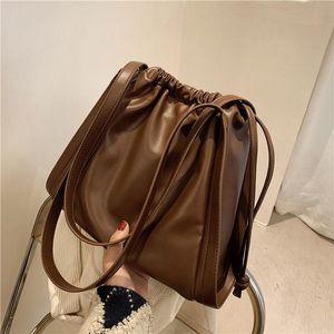 Ladies Tote Bag Sac Casual Shoulder Leather Big Handbags Women Elegant For Luxury New Bags Designer Handbag Shtgo