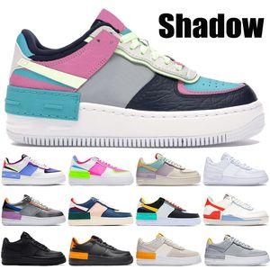 2021 Новая 1 тень мужская обувь Тройная черная белая едва вольт Oracle Aqua Metallic Silver Wolf серый мужская баскетбольная обувь женщин кроссовки