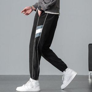 Men's Korean fashion casual pants binding feet 2020 new autumn versatile fashion Pai Capri casual pants
