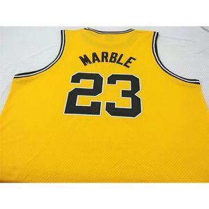 Benutzerdefinierte 604 Jugendfrauen # 23 Roy Marmor Iowa Hawkyes College Basketball-Jersey Größe S-4XL oder benutzerdefinierte Name oder Nummer Jersey