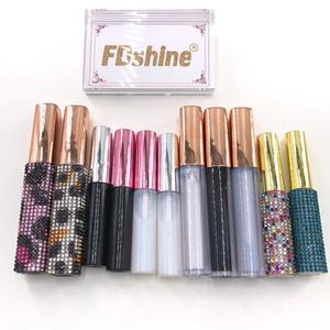 FDshine Wholesale Lash Glue For Full Strip Mink Eyelashes Waterproof White Black Eyelash Glue Lash Extension Tools