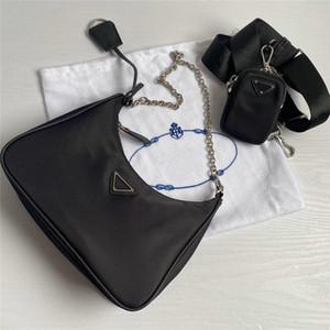 Hot Re-Edition Nylon Designer Umhängetasche Leder Handtasche Designer Beste Selling Dame Cross-Body Luxus Tasche Kette Tasche Tote Hohe Qualität
