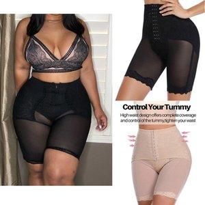 Miss Moly Donne Moly Vita Alta Vita Mutandine Body Traspirante Slimming Tummy BodyShaper Biancheria intima Panty Shapers Y200706