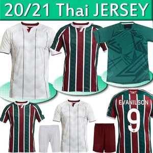 FLUMINENSE 2020 21 Jerseys de fútbol Ganso Flufão Fred Phganso Hudson Nino Nino Henrique Futbol Camisas Fútbol Camisetas Camisetas Top