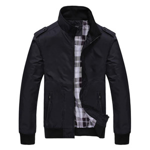 New Style Jacket Men Stand Collar Thin Windbreaker Jacket Coat Men Casual Slim Fashion Chaqueta Hombre