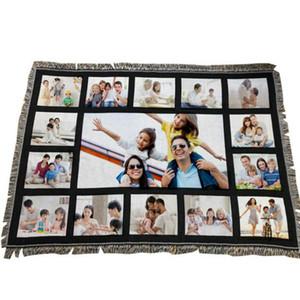 بطانية التسامي بطانية بطانيات فارغة بيضاء للبطانيات السجاد التسامي مربعة للتسامي Theramal Transfer Printing Rug 2021