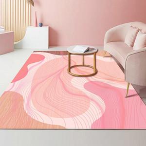 İskandinav pembe halı gril oda ev halı oturma odası yatak odası büyük kilim salon ev dekoratif koridor mutfak büyük