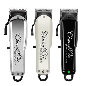 Magic Metal Professionelle Elektrische Haarschneider Bartrasierer 100-240V Wiederaufladbare Clipper Titanmesser Männer Haarschneidemaschine 8148