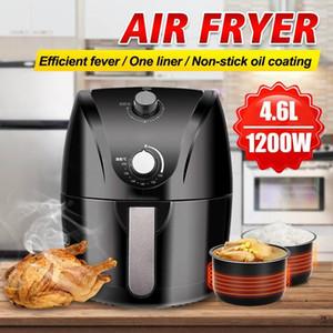 4,6L Capacité de grande capacité Multifunction Air Fryer 1400W Huile de poulet Air Free Friteuse Santé Pizza Cuisinière Électrique Deep Airfryer
