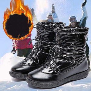 New Outdoor Trainers Original Design Winter Fashion Women Down Snow Boots Casual Flat Heel High Top Sneakers Warm Waterproof Designers Shoes