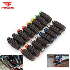 For YZF R6 R 6 1999-2019 2000 2001 CNC 6MM Racing Motorcycle Aluminum Footrests Footpegs Foot Rests Rear Pedals1