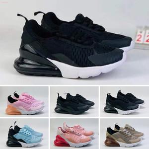 270 27c 2019 Scarpe design per bambini Bambini 27s Scarpe da basket Wolf Grigio Toddler Sport Sneakers per Boy Girl Toddler Chaussures Pour Enfant