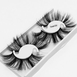 Pestañ lashes 25MM 5D mink false eyelashes dramatic wispy fluffy full strip lashes handmade 2 Pairs long thick lashes faux cils 50 pcs a lot
