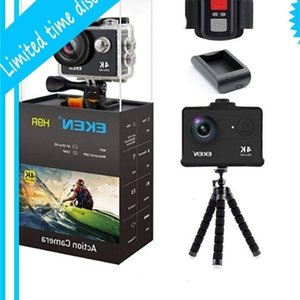 En Sıcak Orijinal H9 H9R 4 K Spor Kask 30 M Su Geçirmez Spor 4 K Eylem Kamera Eken