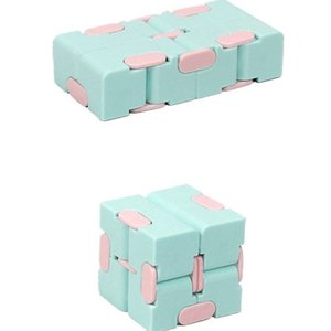 2021 Novo Estilo de Alta Qualidade Liberação Stress Fidget Mágico Cubo Sensory Fidget Quebra-cabeça Brinquedos Dobrável Dobrável Dobrável Magia Cube Jogo de mão