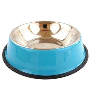 2020 Hundeschalen Edelstahl Welpen Hund Feeder Fütterung Lebensmittel Wasser Dick Bowl Pet Hunde Katze Neue Hundeschüssel Jllsqv Sinabag