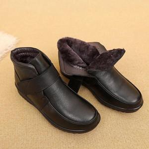2021 Fashion Women Boots platform ladies Winter women's Boots Ladies Thick Sole fashion Platform boots Botas Mujer #NG4J