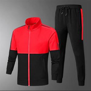 Nouveaux pistes de style pour hommes Sportswear avec lettres automne Fashion Tracksuit à manches longues Pantalon Jogger Costume Vêtements 3 couleurs