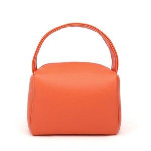 Niche Soft Ladies Hand Tofu Bag 2021 Trend PU Leather Ladies Handbag Cute Small Square Bag Fashion Solid Purses