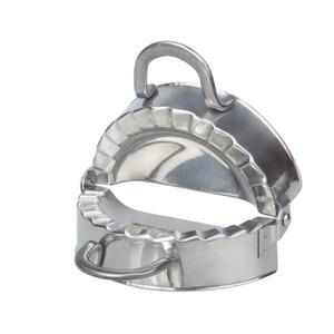 Novas Ferramentas de Pastelaria Eco-Amigável Ferramentas de Aço Inoxidável Maker Maker Wrapper Cutter Cortador Torta Ravioli Molde de Molde de Cozinha GWD3502