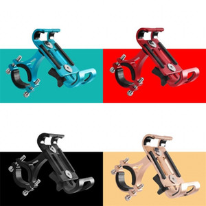 Bicicleta Equipamento de Equipamento de Fixação Liga de Alumínio Montagem Fixa Antiskid Antiskid Telefone Móvel Rotatable Multi Cor 9 5BG O2