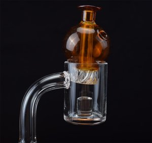 Quartz Banger Core Reactor Domeless Quartz Nails With Spinning Carb Cap 10mm 14mm 18mm Female Male Joint for Glass Bong